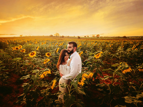 Nahana e Ricardo | Ensaio em Holambra