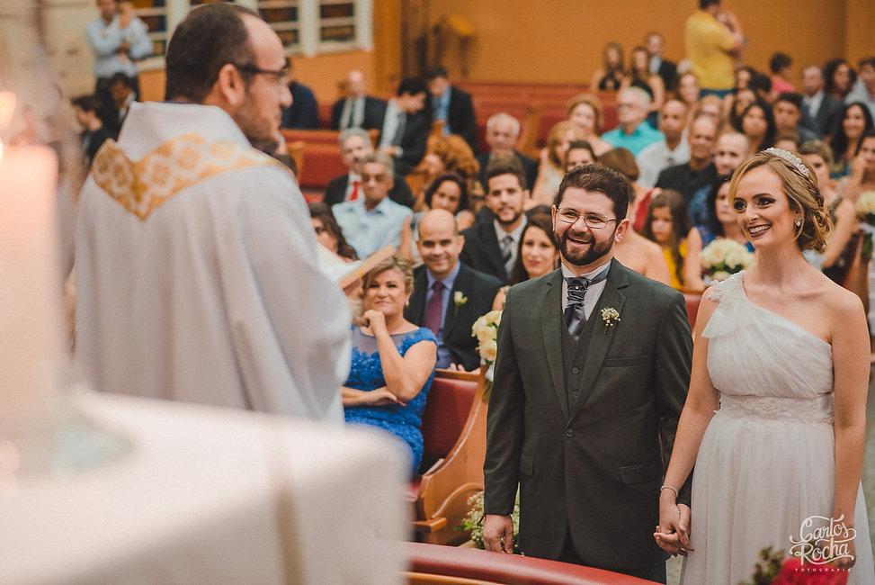 fotografia de casamento em presidente prudente, santuario santa teresinha, igreja