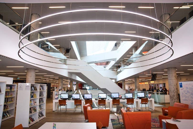 HALIFAX PUBLIC LIBRARY - INTERIOR