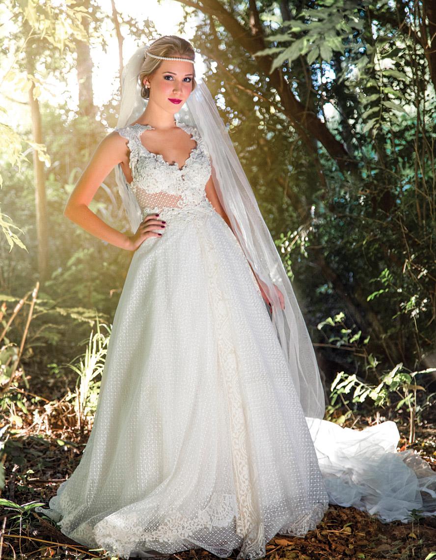 Noiva para Sandra Dantas Designer