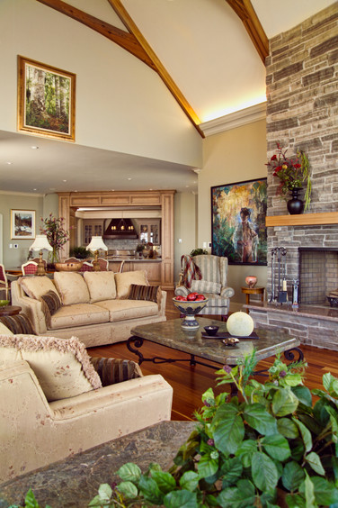 LIVING ROOM - FOX HARBOUR