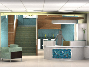 Univita Lobby & Reception Conceptional Renderings