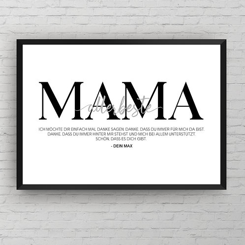 VERY BEST MOTHER  POSTER