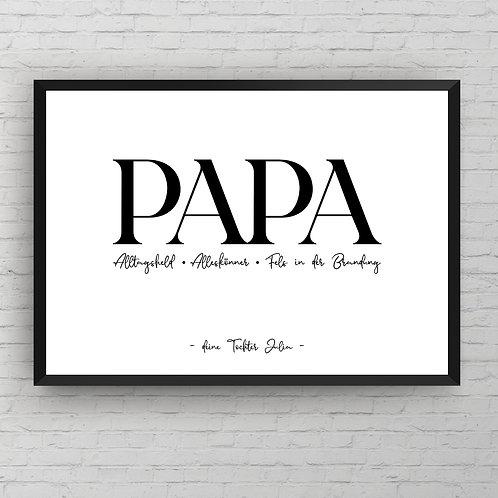 PAPA POSTER