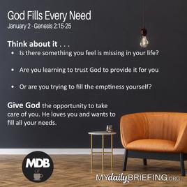 God Fills Every Need