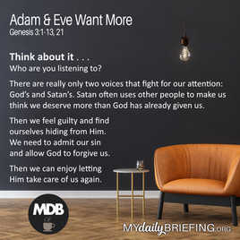 Adam & Eve Wanted More