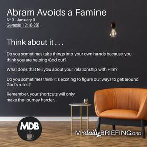 Abram Avoids A Famine