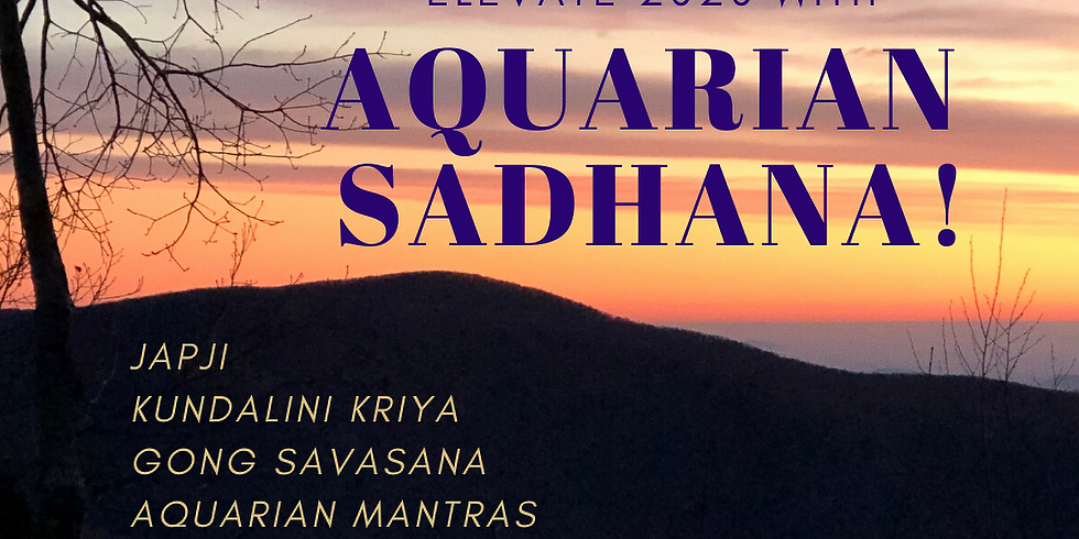 Aquarian Sadhana (Free!)