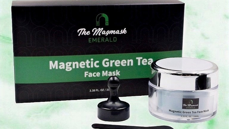EMERALD - Magnetic Green Tea Face Mask