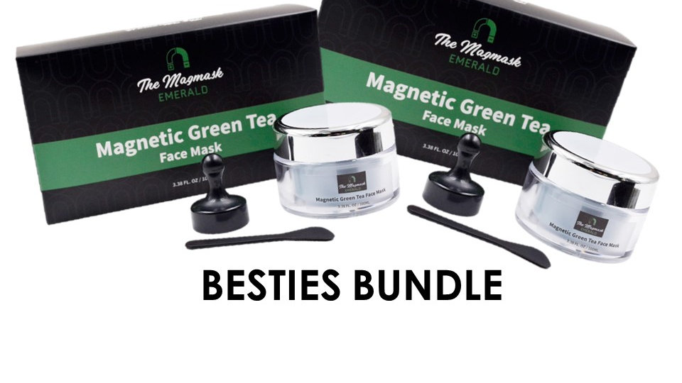 EMERALD - Magnetic Green Tea Mask (Besties Pack)