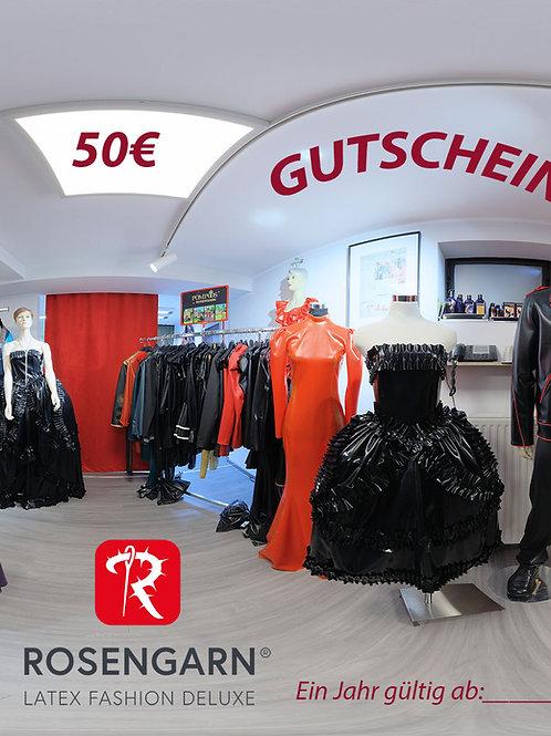Rosengarn Gutschein 50€