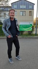 Johan W. in Latex StreetStyle
