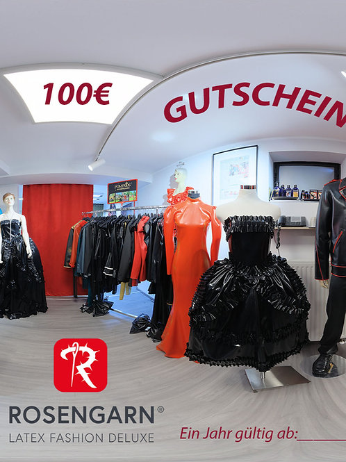 Rosengarn Gutschein 100€