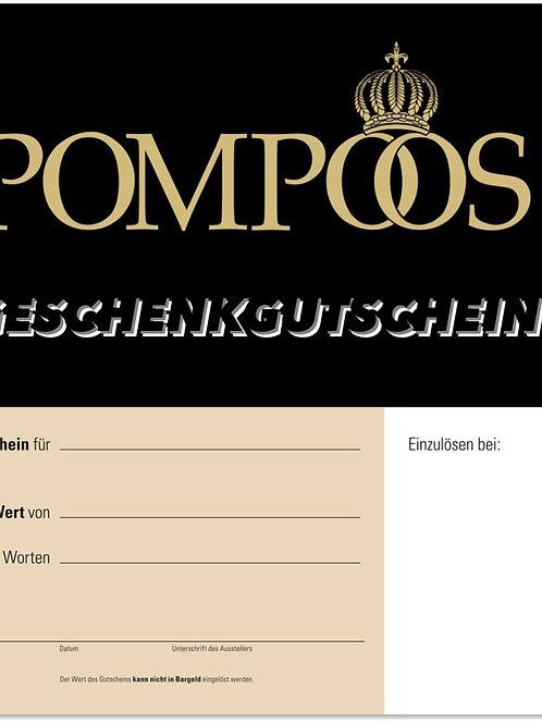 100€ Gutschein Pompöös by Rosengarn