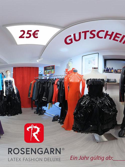 Rosengarn Gutschein 25€