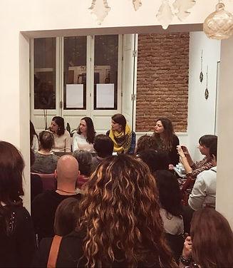 Ana González Hortelano presentación Los pájaros Billar de Letras