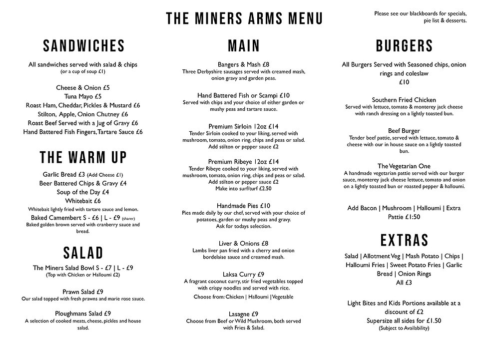 the miners arms menu .jpg