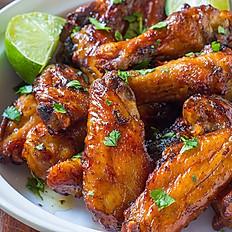 Garlic Serrano Wings