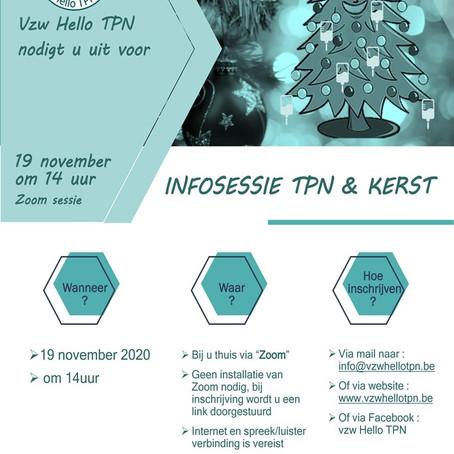 HEllo TPN vzw, infosessie TPN &Kerst