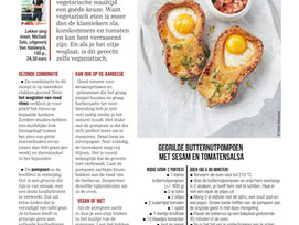 SOS Gezond: Instaprecept zonder vlees ( Het Nieuwsblad Mg)