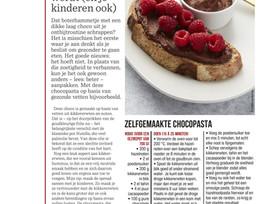SOS Gezond: zelfgemaakte chocopasta waar je blij van wordt! ( Het Nieuwsblad Mg)