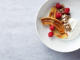 Ontbijt Banana-Split