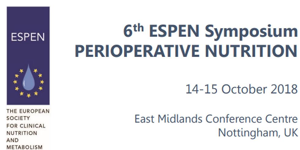 6th ESPEN Symposium on Perioperative Nutrition