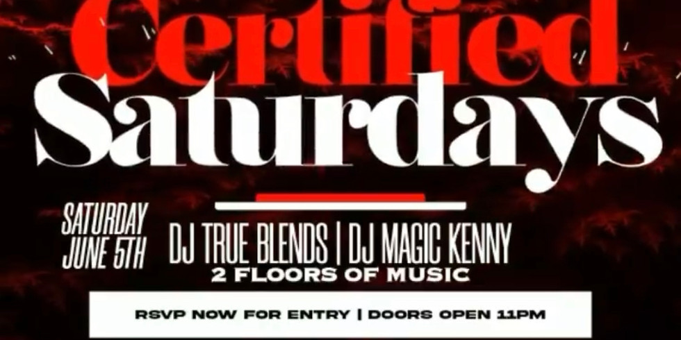 CERTIFIED SATURDAYS IS BACK