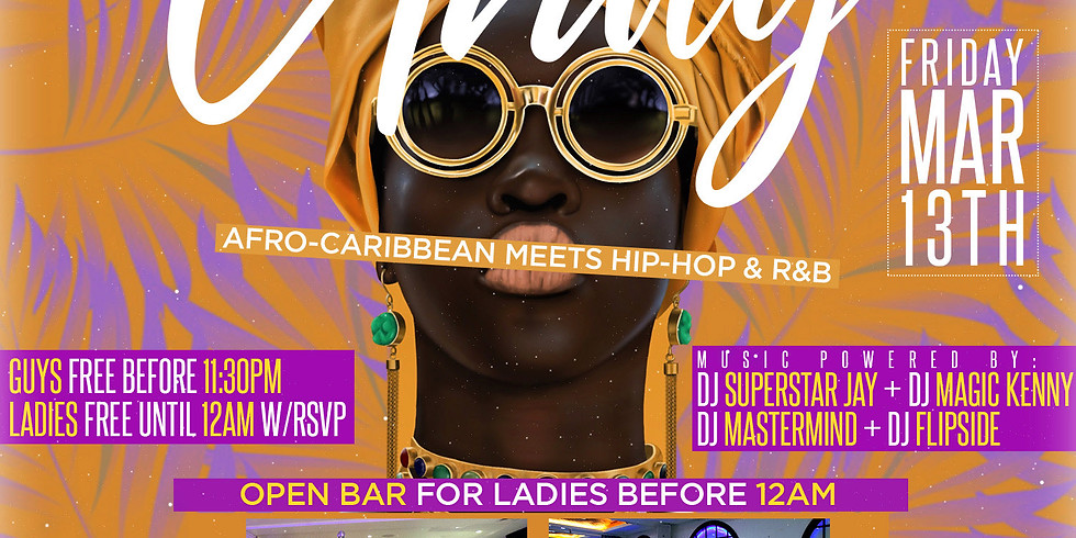 AFRO-CARIBBEAN Meets HIP-HOP/R&B