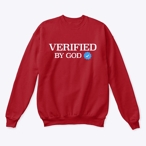 Verified By God Unisex Sweaters