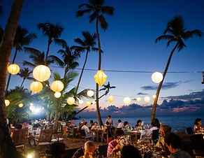 Beach dining Las Terrenas.jpe