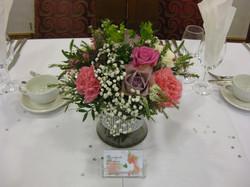 Summer vase flowers
