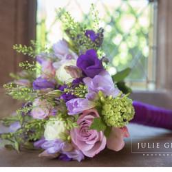 Wedding bouquet spring