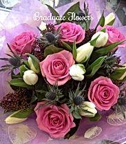 Pink Rose handtied