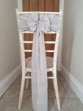 Chiffon or Cheese Cloth Sash Bow