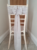 Chiffon or Cheese Cloth Sash Bow