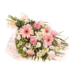 funeral open bouquet