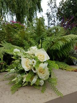 Wedding bouquet blush