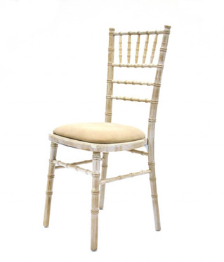 Lime Wash Chiavari Chairs