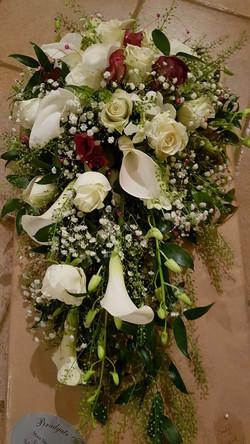Wedding shower calla lily