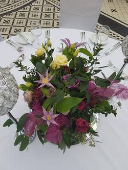 Decadent vase flowers