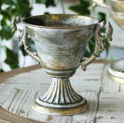 Brocante Filigree Vintage Urn