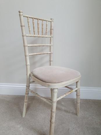 Lime wash Chiavari Chair