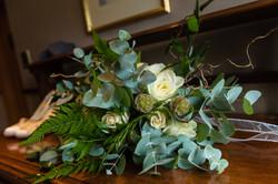 Wedding bouquet woodland