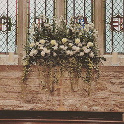 Church window display