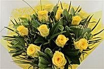 Yellow Rose Handtied.jpg
