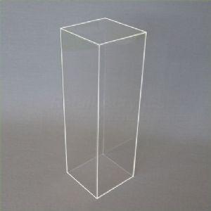90cm Clear Acrylic Plinths