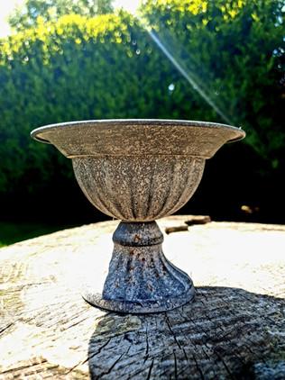 Vintage Zinc Urn