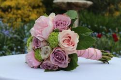Pinks and lilac wedding