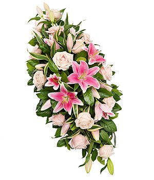 rose & lily double ended spray TR13DESSF 2ft - 5ft - £40 per ft